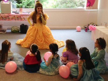 Princess Charlotte becomes Belle!