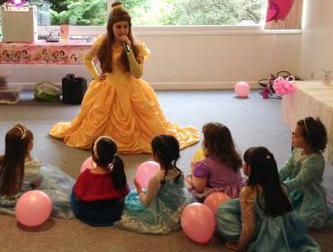 Princess Charlotte becomes Belle!
