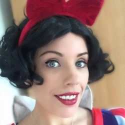Snow White Character Party Hire