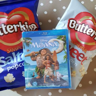 Moana is out on DVD!