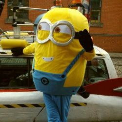 Minion Mascot Hire Nottingham