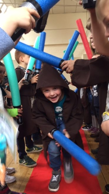 Star Wars Parties are in full flight!
