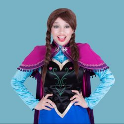Princess Anna Frozen Mascot Hire