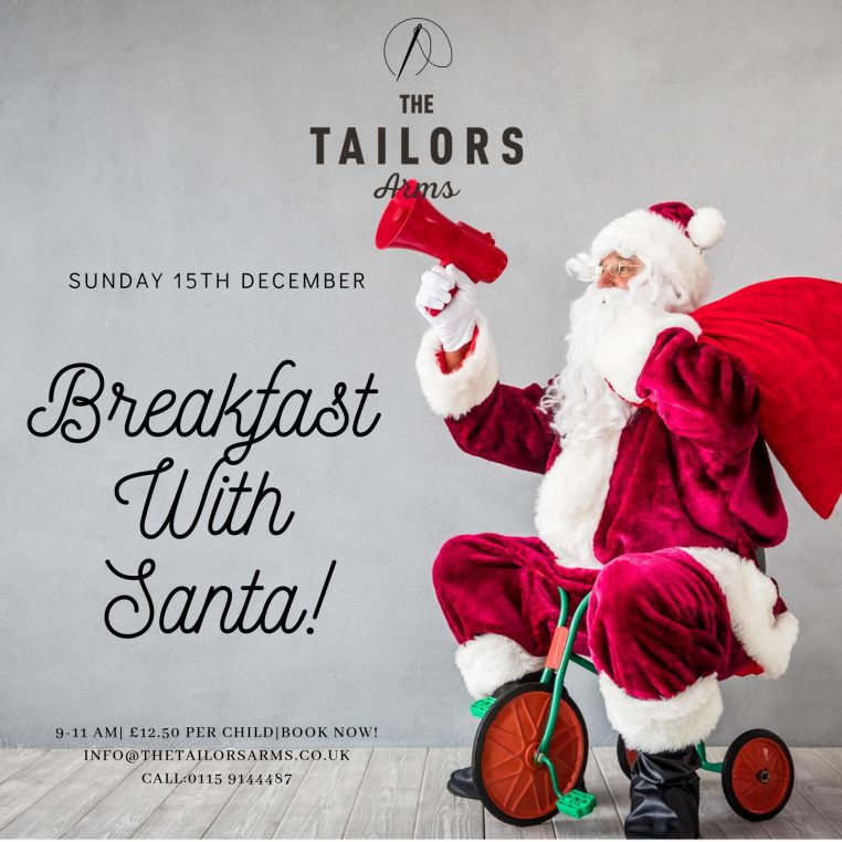 Breakfast with Santa - The Tailors Arms