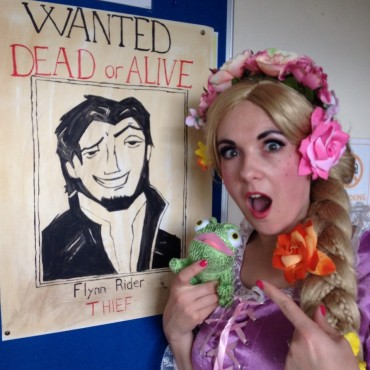 Tangled magic at Flynn and Rapunzel's first Royal Ball